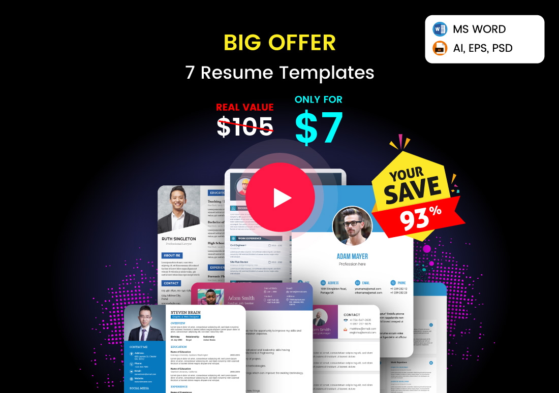 resume bundle offer