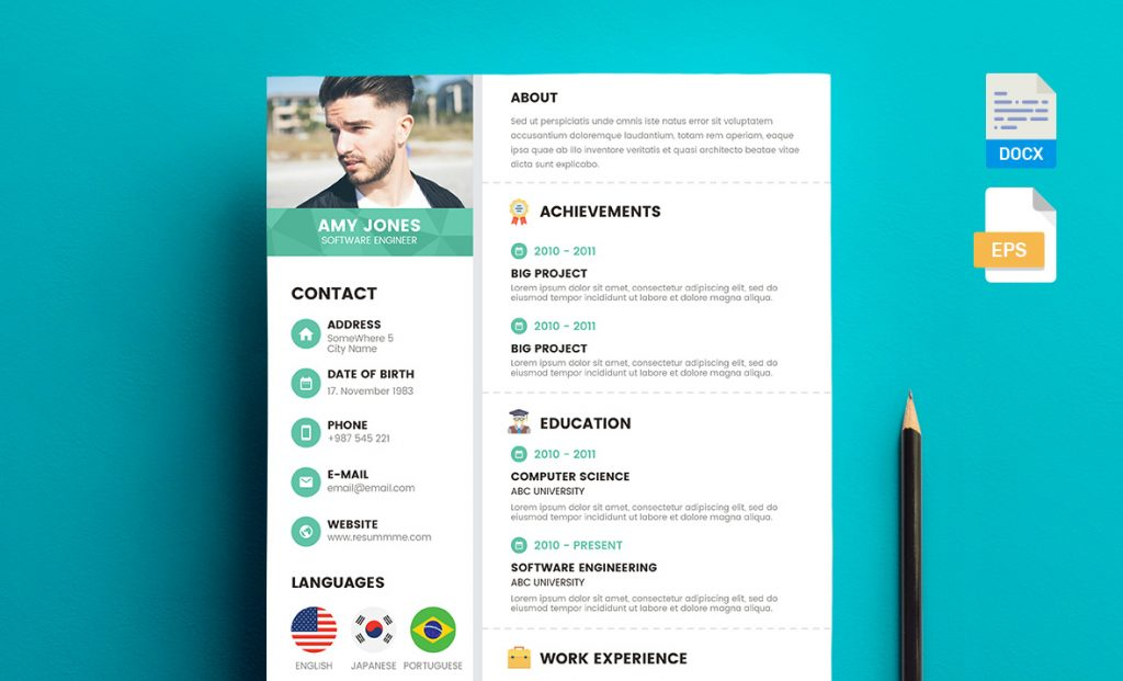 18 free resume templates 2018 resummme corporate free resume template best free resume yelopaper Image collections