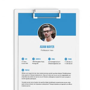 Multipurpose Resume Template